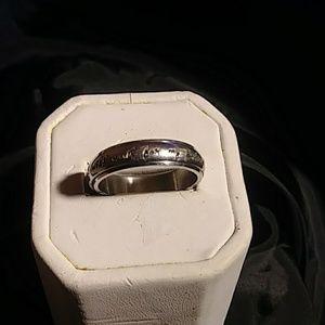 Mens Spinner Ring